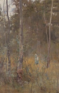 Lost by Frederick McCubbin, 1886