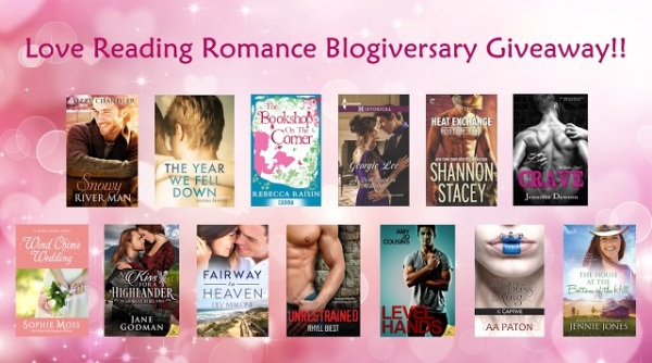 Love Reading aroma ce giveaway bundle
