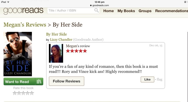 screen grab 5 star review BHS